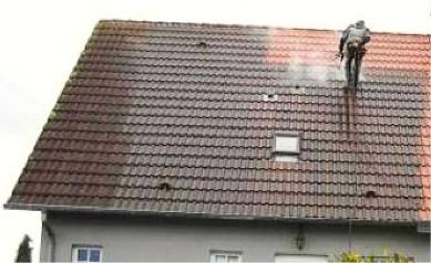 Prix indicatifs d'une opération de démoussage de la toiture