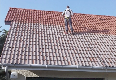 Démoussage de la toiture : par soi-même ou par un pro ? | Demoussage