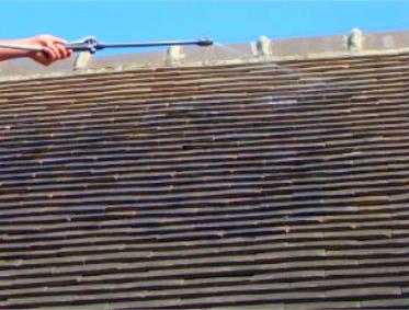 Le toit en fibrociment, isolant et esthétique